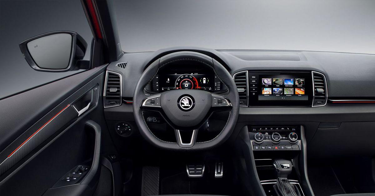 Škoda Karoq Sportline - notranjost