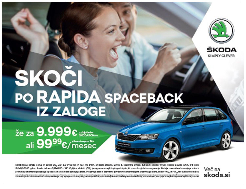 Zaloga - Škoda Rapid