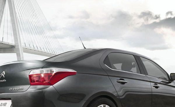 Citroën C-Elysee - zadnja luč