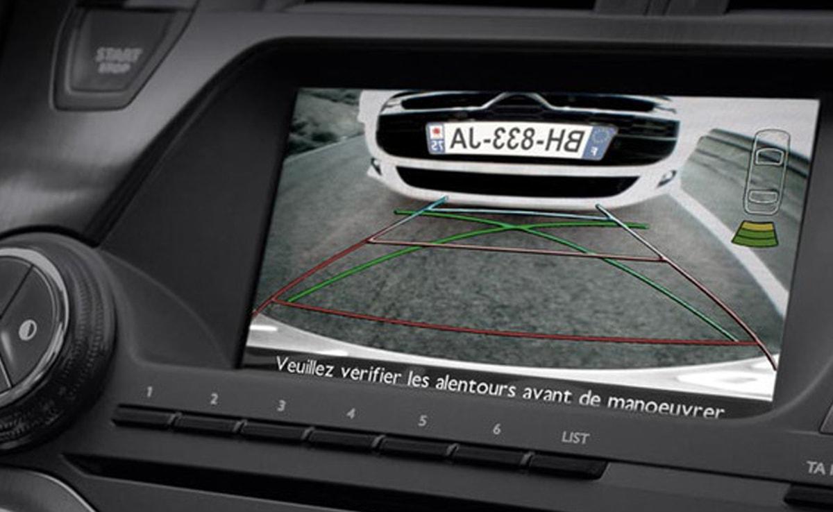 Berlingo Multispace - kamera za pomoč pri vzvratni vožnji