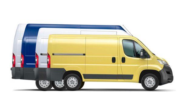 Citroën Jumper Kombi - različne velikosti