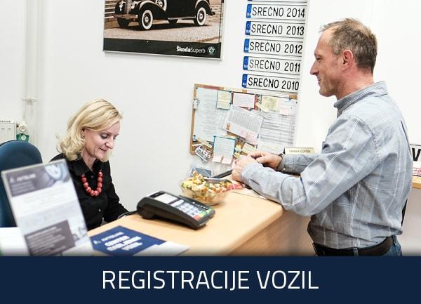 Registracije vozil