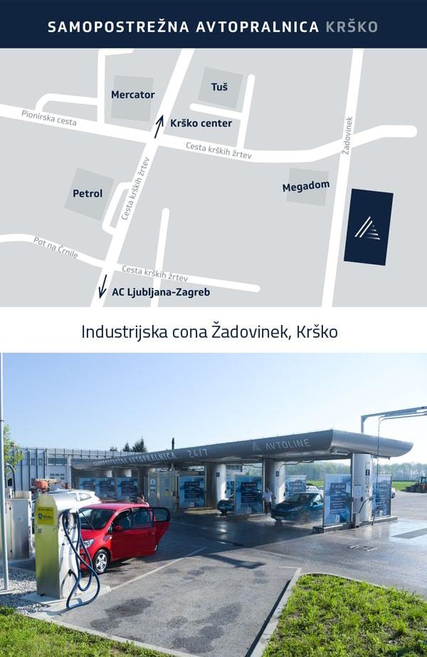 Samopostrežna avtopralnica Avtoline - Krško