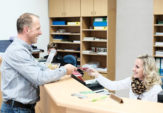 Tehnični pregledi Avtoline - pisarna