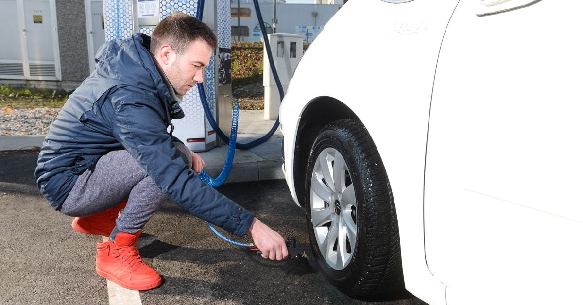 Poskrbite za ustrezne pnevmatike!
