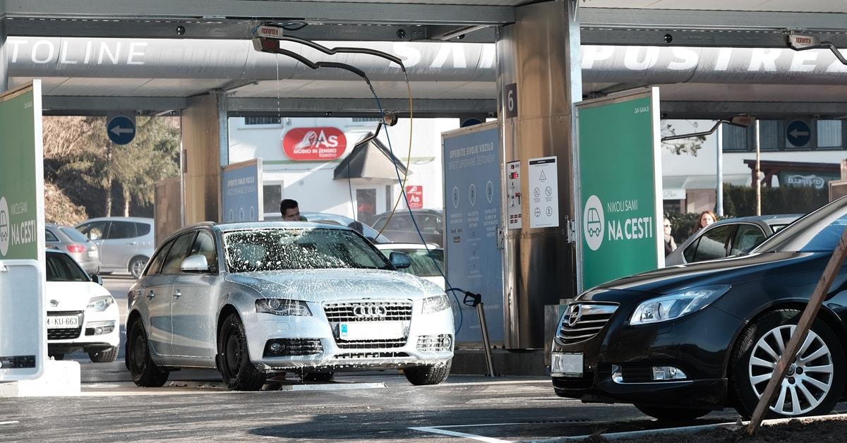 Operite avto v le nekaj minutah