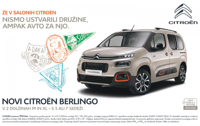 Novi Citroen Berlingo