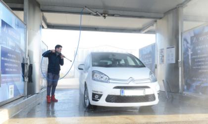 pranja avta pozimi