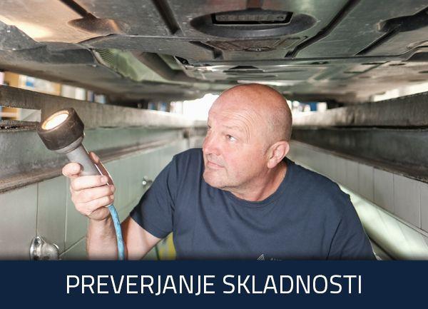 Preverjanje skladnosti vozil