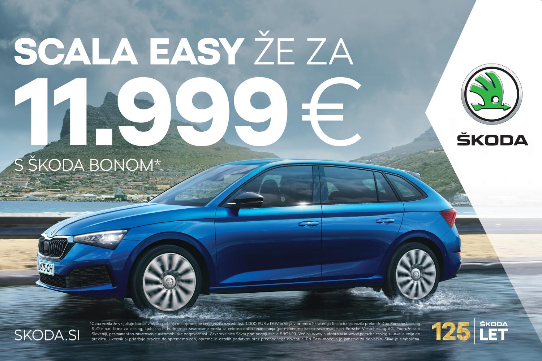 Škoda Scala - Easy | Avtoline