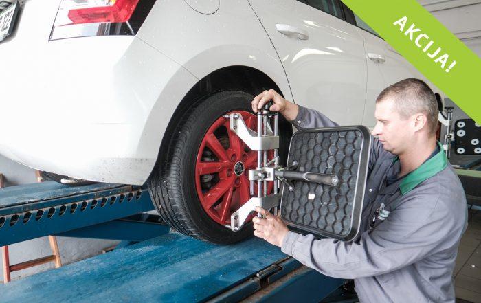 Optika vozila in pregled podvozja| Akcija meseca | Avtoline