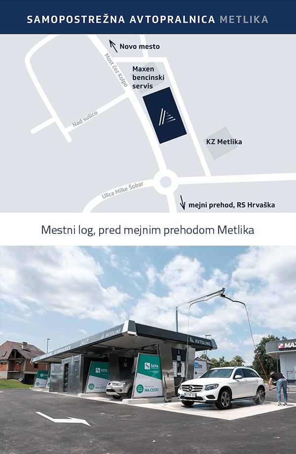 Samopostrežna avtopralnica Avtoline - Sevnica