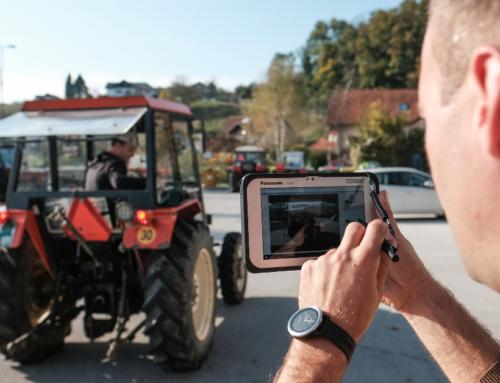 Tehnični pregledi traktorjev na terenu – jesen 2020